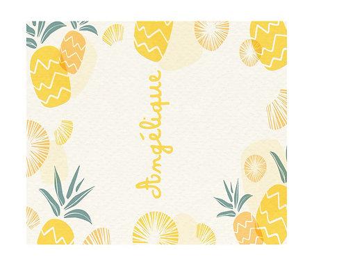 Tablette ananas prénom