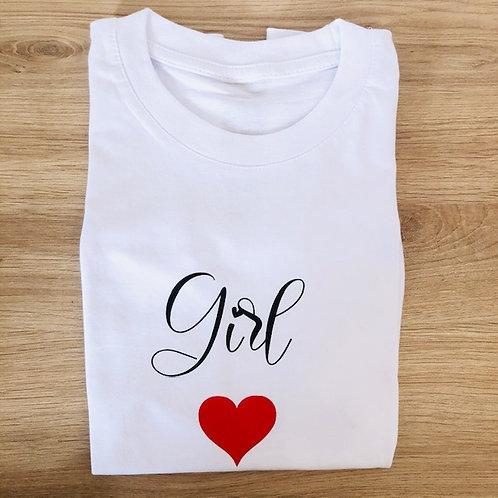 """T-shirt """"Girl"""""""