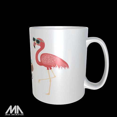 Mug flamand rose, Merci maîtresse