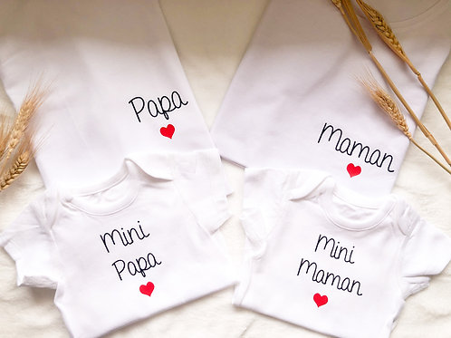 QUATUOR Papa, Maman, Mini Papa, Mini Maman