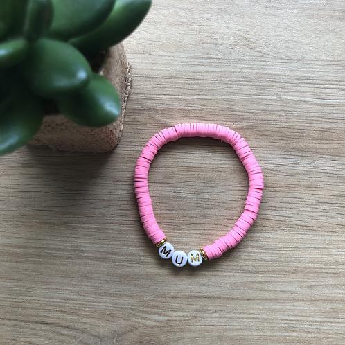 Bracelet Rose néon