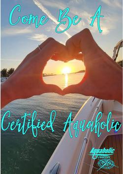 Aquaholic charters heart