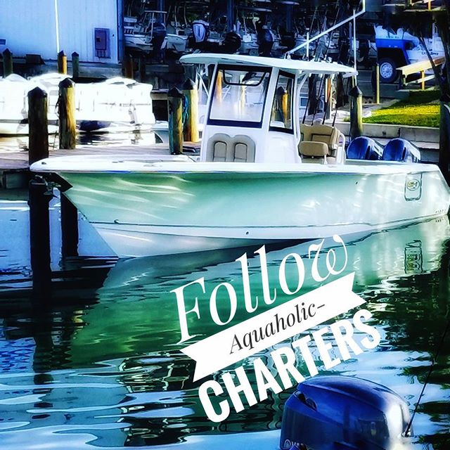 Don't forget to give us a follow!! Aquaholic-Charters