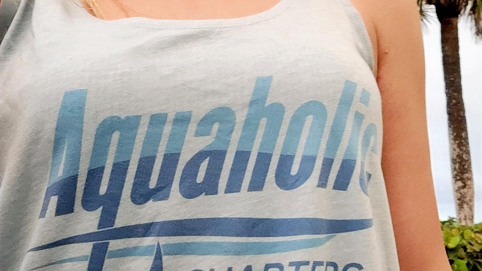 Women's Aquaholic Charter Tank