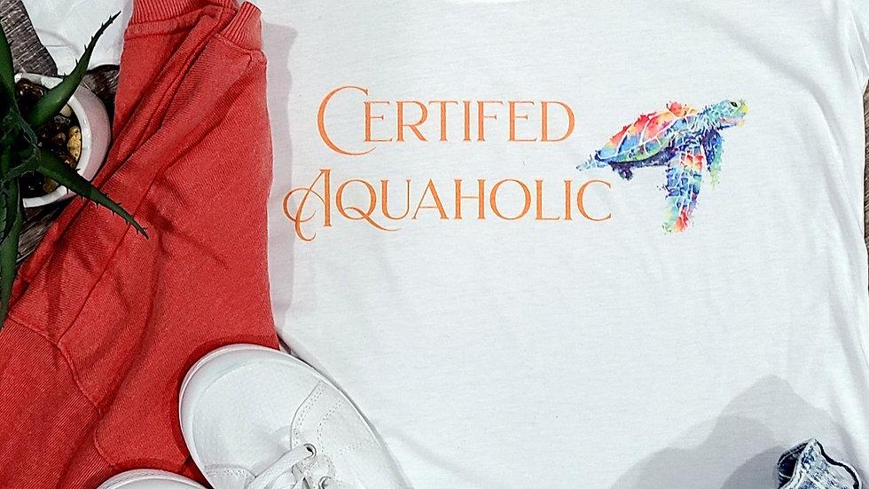 Women's Sea Turtle Scoop NeckT-Shirt