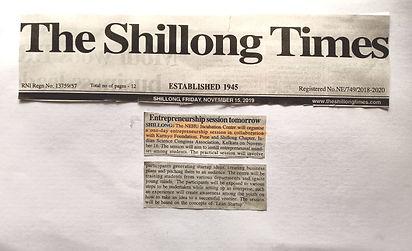 Press coverage Shillong Times(1).jpg