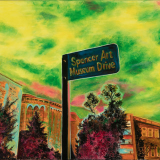 #29 Spencer drive painting by Jody Ray