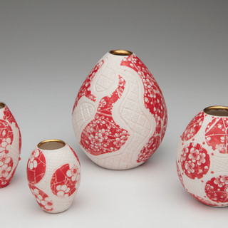 #32 ceramic vessels by Kim Brook