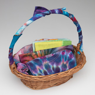 #35 Tie Dye basket from KH and Irene