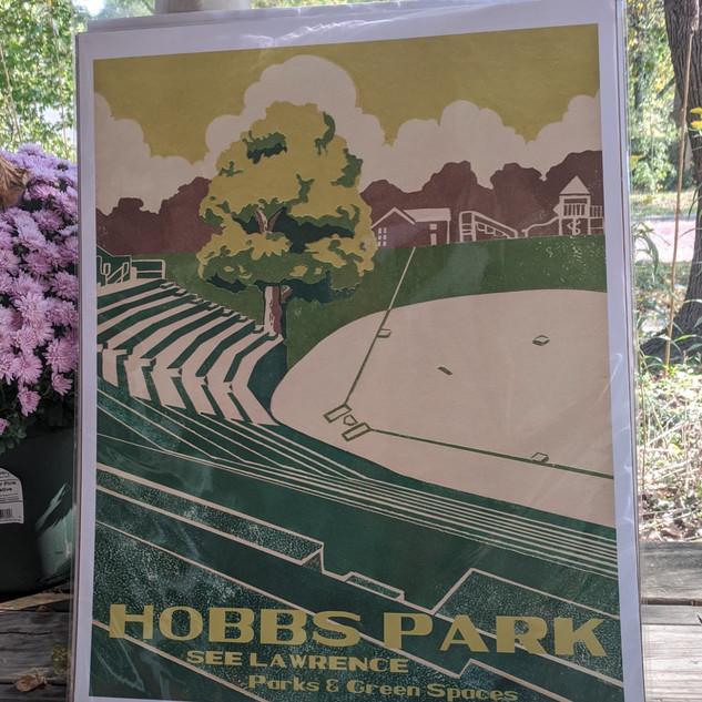 #43 Hobbs Park poster