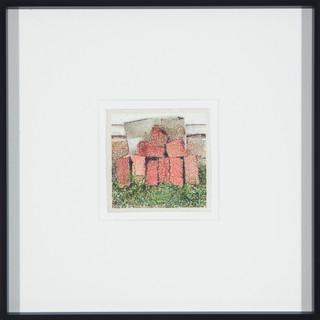 #11 Bricks print by Stephen Johnson