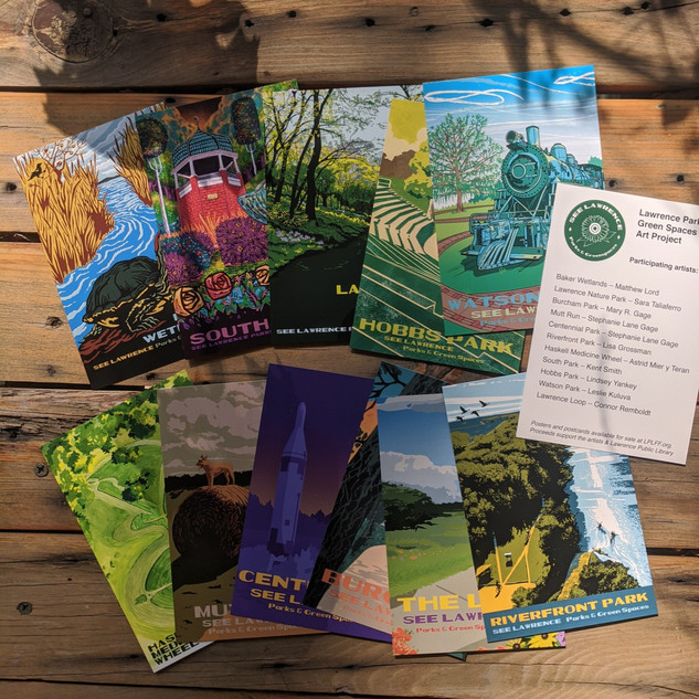 #40 parks project postcards