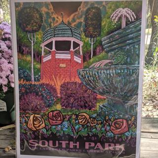 #42 South Park poster