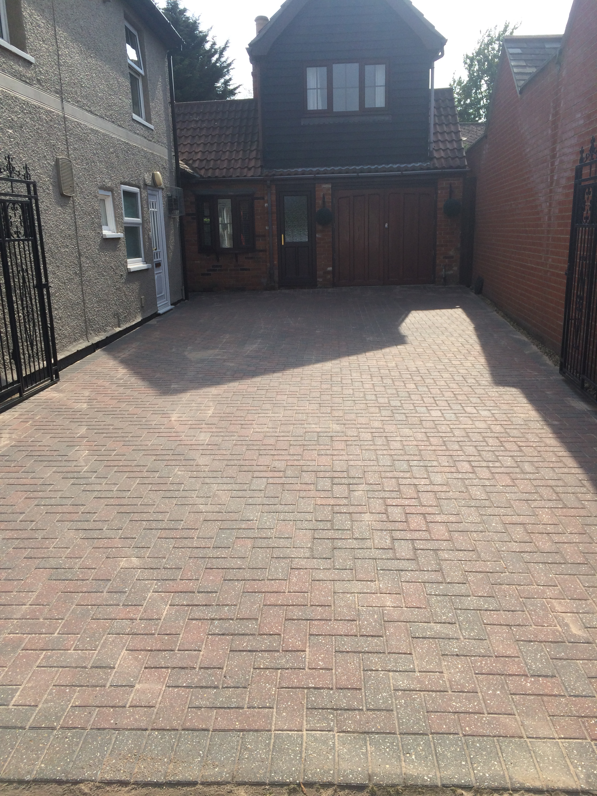 Communal driveway