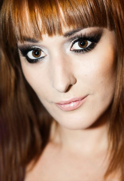 Make-up & photo makeover__Model_ Anja Kozina