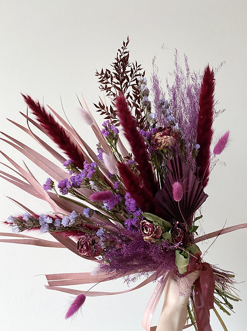 Perfectly Purple Large Dried Bouquet