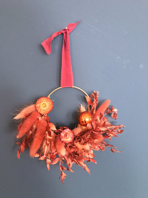 Mini Dried Floral Tree Decoration