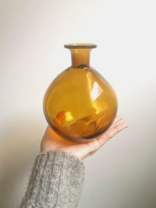 Small Glass Bubble Vase