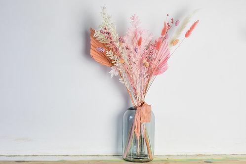 Peachy Dream Letterbox Dried Bouquet