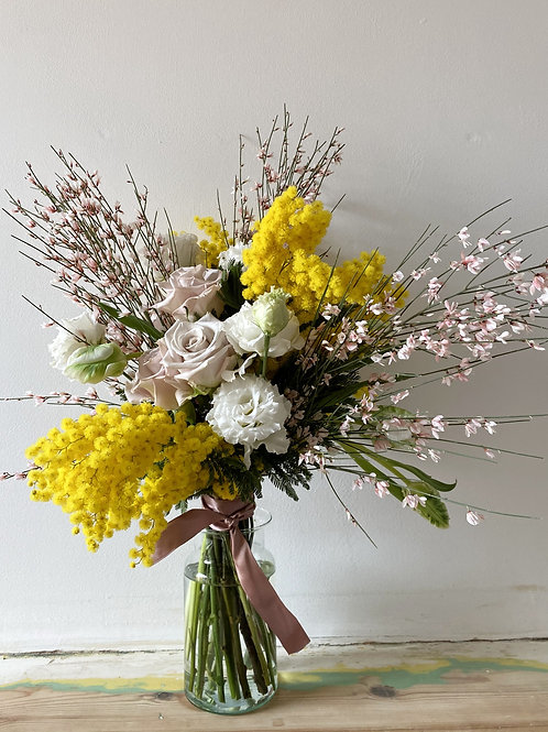 Sunshine and Hope Hand Tied Bouquet