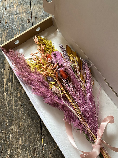 Summers Day Dried Letterbox Bouquet