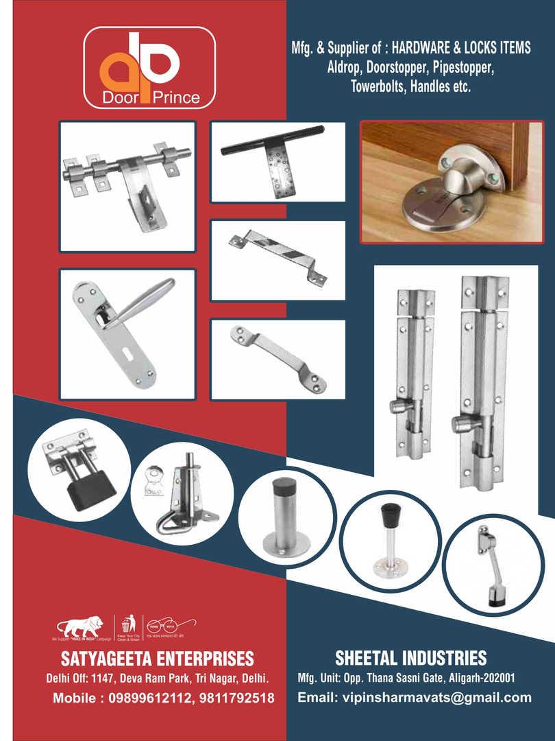 #Hardware & Locks items, Aldrop, Doorstopper, Pipestopper, Towerbolt, Handles, etc