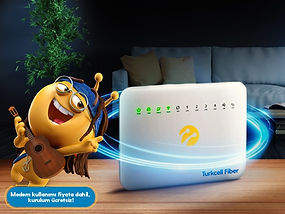 Turkcell Fibere Giriş Paketi Kampanyası