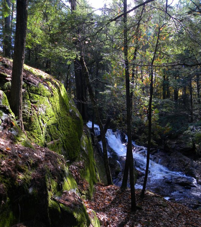Walking trails to Little High Falls