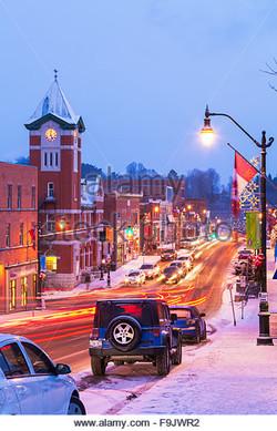 Downtown Bracebridge