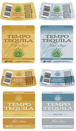 Sauza Generic Tequila Label
