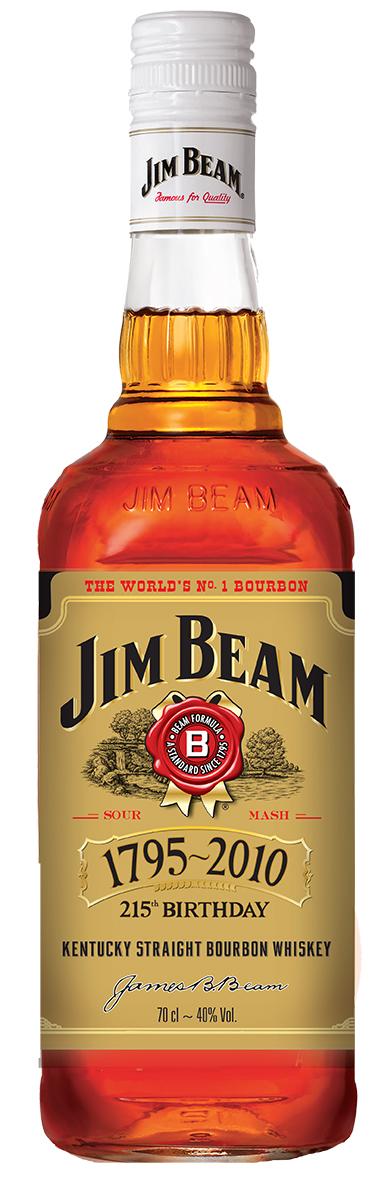 JIm Beam Anniversary Label
