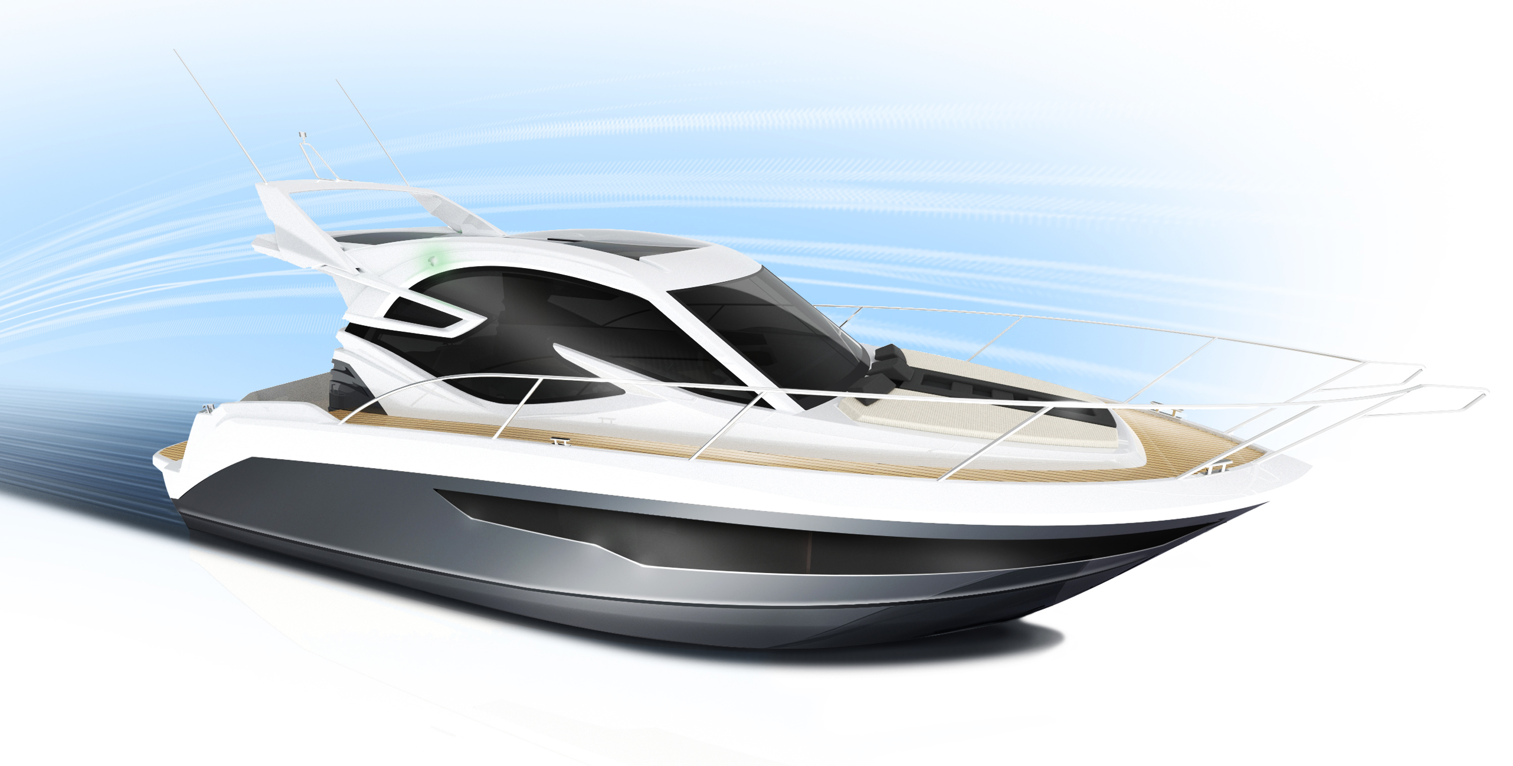 Galeon 310 HTC sketch