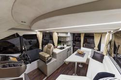 Galeon 360 fly interiors