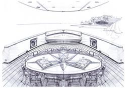 Nautilus 60 Dining deck