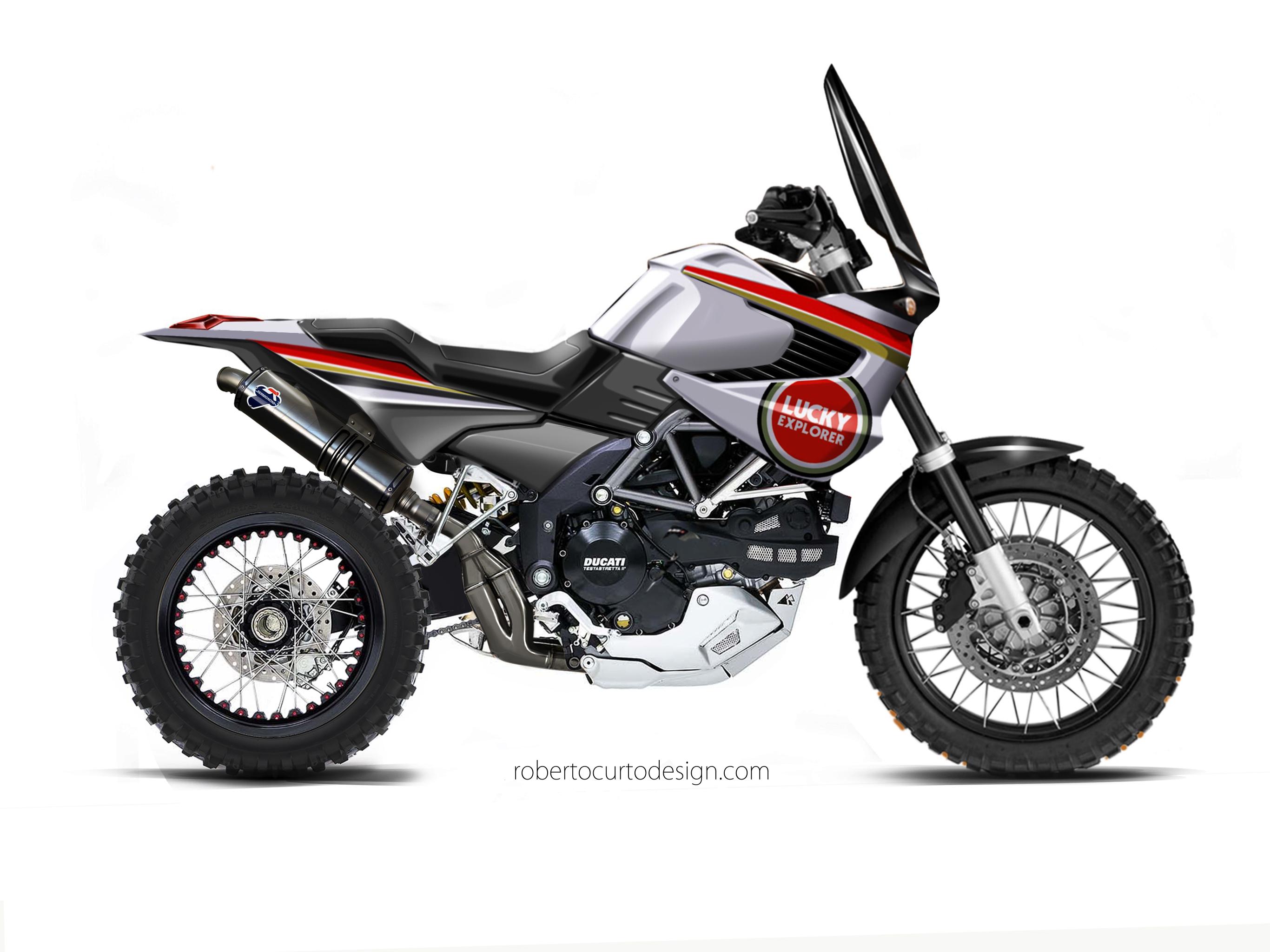 Ducati Elefant 1200 concept