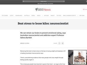 Beat stress to loose kilos: neuroscientist