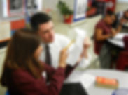 James Talarico for State Representative teaching children as a public school teacher.