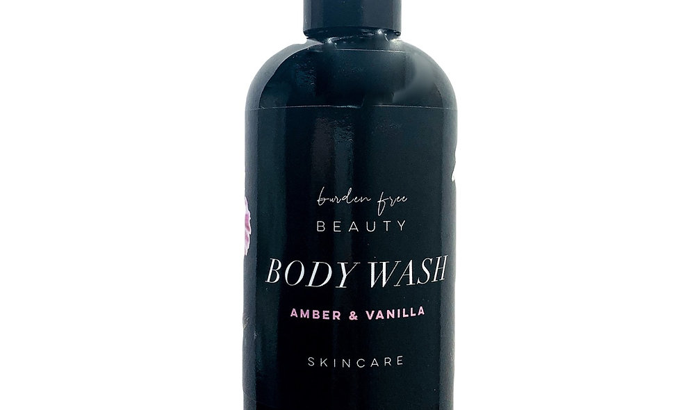 Amber & Vanilla Body Wash
