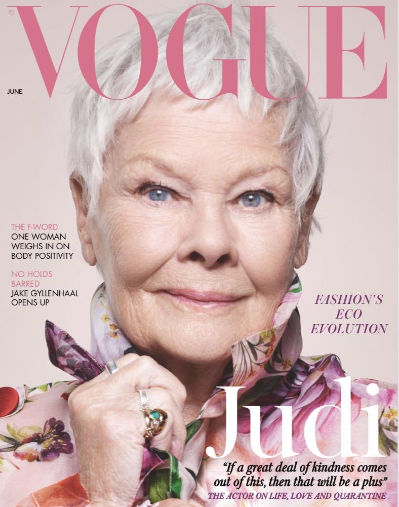 Burden Free Beauty Advertised in British Vogue