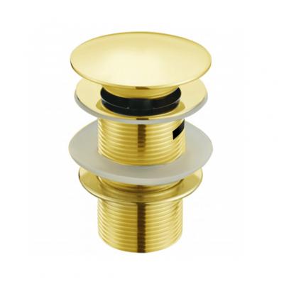 Донный клапан с переливом (золото) MLN-TB51