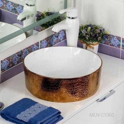 Раковина MELANA MLN-C1060 (золото)