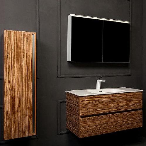Мебель для ванной Armadi Art Vallessi 100 зебрано