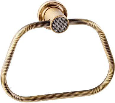 Полотенцедержатель Boheme Royal Cristal Bronze кольцо