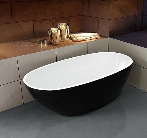 Отдельностоящая акриловая ванна Sophia (Black)