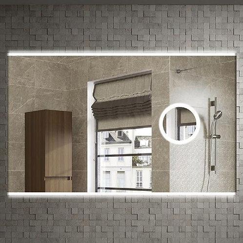 Зеркало Armadi Art Vallessi 100x60, с увеличением и подсветкой