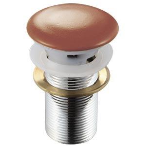 Донный клапан с переливом (терракот) MLN-TB17