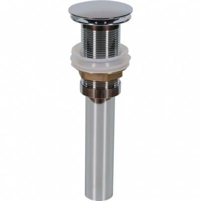 Донный клапан без перелива (хром) MLN-TB52-1