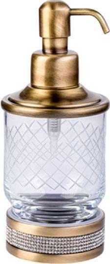 Дозатор Boheme Royal Cristal Bronze настольный
