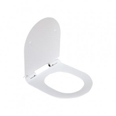 В2330S сиденье для унитаза дюропласт с микролифтом, белое MELANA