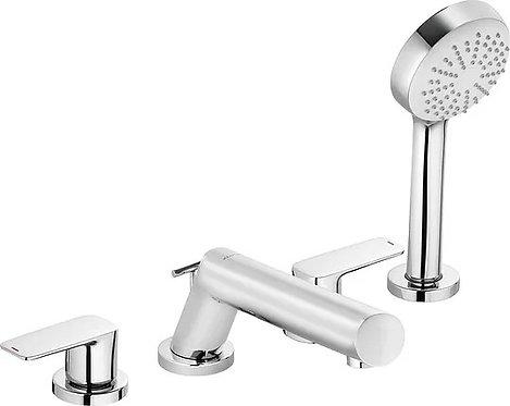Смеситель Kludi Pure&Style 404250575 на борт ванны
